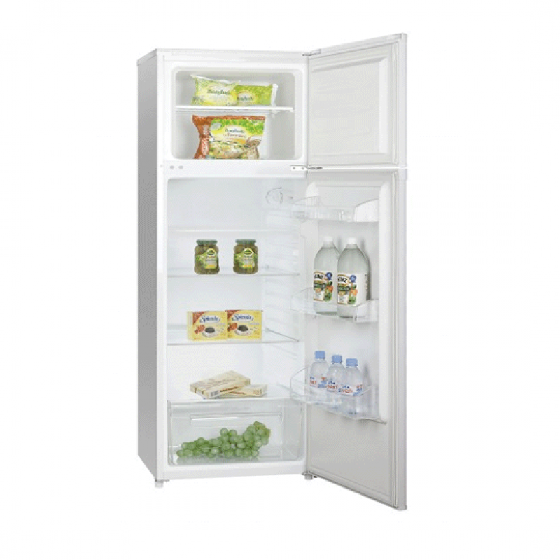 Newstar DP2600 , Réfrigérateur à 2 portes de 168L, Silver