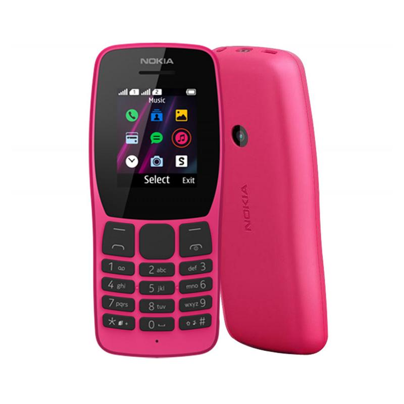 Nokia 110 2019, Téléphone portable Dual SIM débloqué GSM
