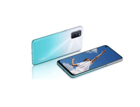 Oppo A92, Smartphone Android milieu de gamme 128 Go Blanc
