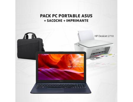 Pack Promo Pc Asus X543U + Imprimante Hp DeskJet 2710 + Sacoche