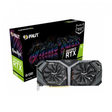 Palit, Carte graphique RTX 2080 SUPER Game Rock Boost 8G (NE6208S020P2-1040G)