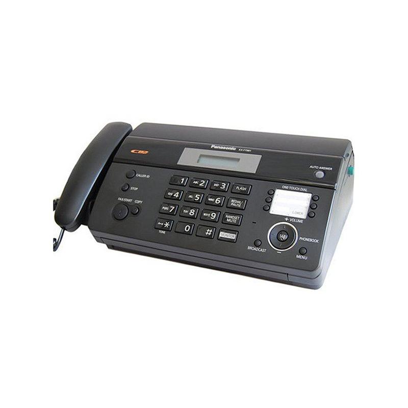 Panasonic KX-FT983CX, téléphone Fax coupe-papier automatique LCD