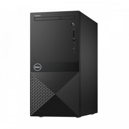 Dell Vostro 3670, Pc de bureau Intel Core i3-8100, Ram 4 Go, Stockage 1 To