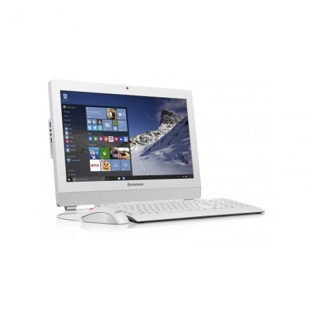 ALL IN ONE LENOVO S200Z QUAD-CORE J3710 4Go 500Go Blanc