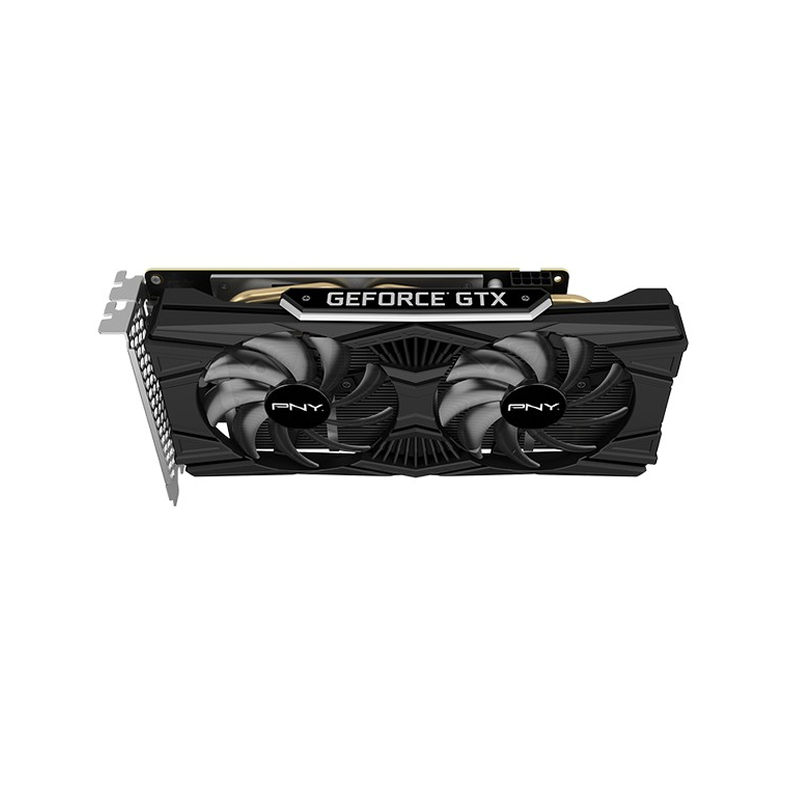 PNY, Carte Graphique GeForce GTX 1660 Super 6GB Double Ventilateur (VCG16606SDFPPB)