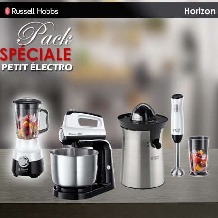 Pack Promo Des petits électro Russell Hobbs Horizon de 4 articles en Blanc