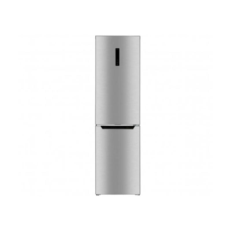 Saba FN2-47S, Réfrigérateur Combiné avec afficheur de 381 Litres NoFrost Silver