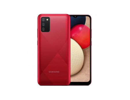 Samsung Galaxy A02s, Smartphone Android milieu de gamme 64 Go Rouge