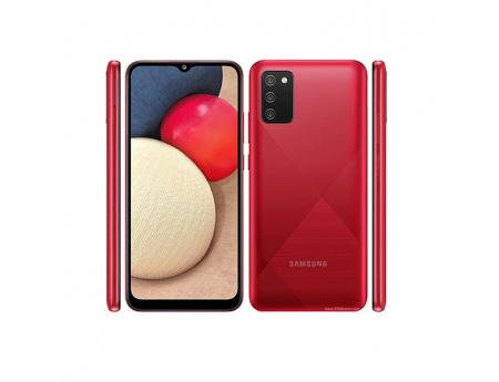 Samsung Galaxy A02s, Smartphone Android milieu de gamme Rouge