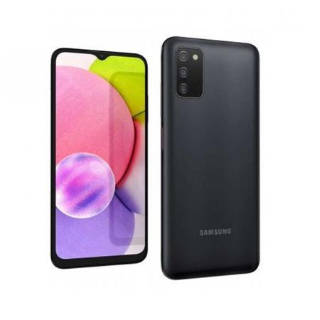 Samsung Galaxy A03S, Smartphone Android milieu de gamme 64Go en Noir