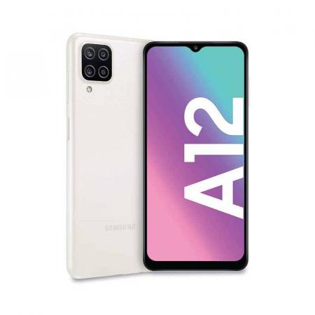 Samsung Galaxy A12, Smartphone Android milieu de gamme 128 Go Blanc