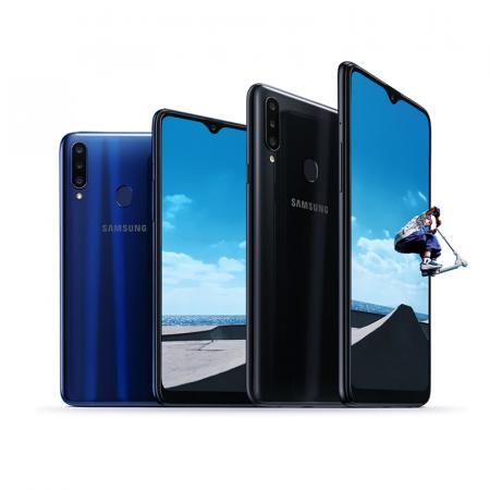 Samsung Galaxy A20s, Smartphone Android milieu de gamme 32 Go débloqué