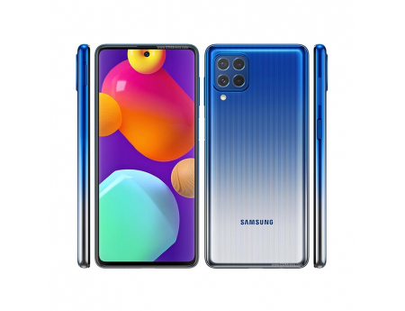 Samsung Galaxy M62, Smartphone milieu de gamme Android 128 Go Bleu