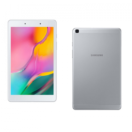 Samsung Galaxy Tab A, Tablette Tactile 8 pouces 32Go RAM  2Gb 4G  Wi-Fi Silver