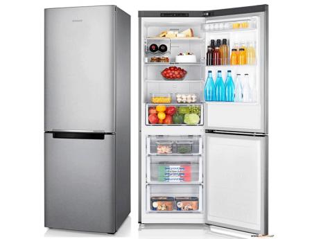 Samsung RB31FSRNDSA, Réfrigérateur combiné de 310l, Silver
