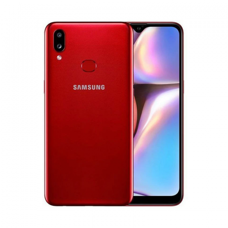Samsung Galaxy A10s, Smartphone Android milieu de gamme Rouge