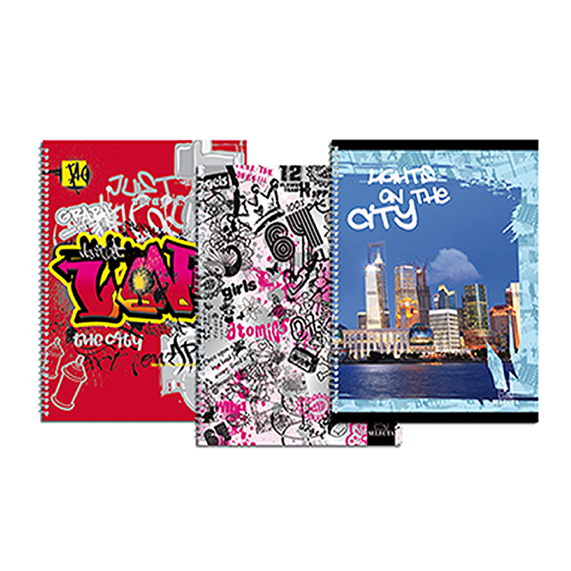 Selecta CS0200, Cahier Spirale 200 Pages Grand Format A4 Vernis
