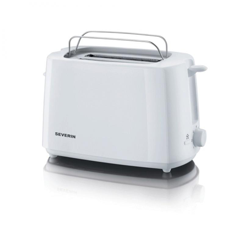Severin AT2288, Grille pain automatique blanc à 2 fentes