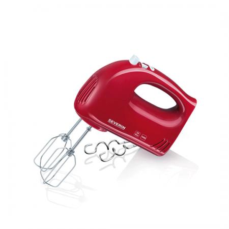 Severin HM3821, Batteur électrique rouge à 5 vitesses