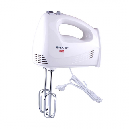 Sharp EMH-15L-W3, batteur à main, 5 vitesses blanc