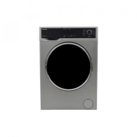 Sharp ES-FP814CX-S, Machine à laver frontale automatique de 8 Kg, Silver