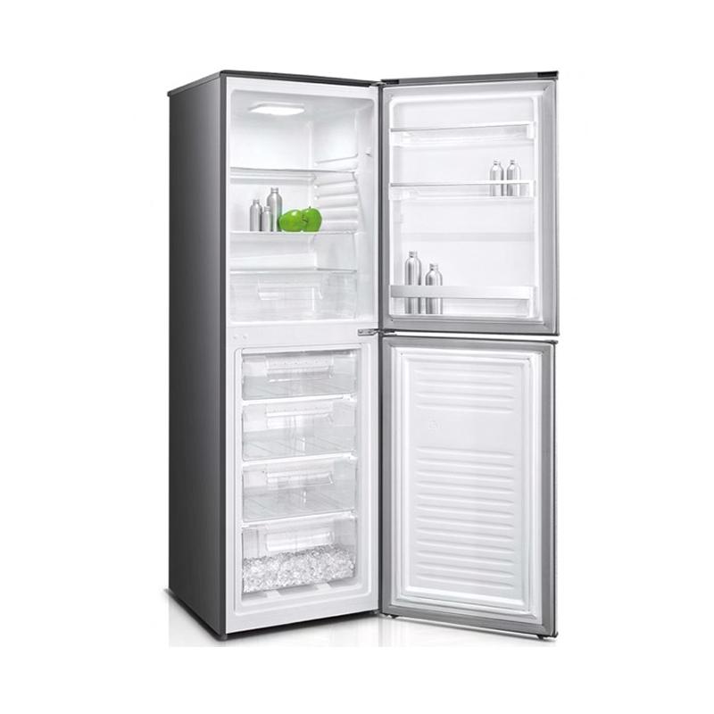 Sharp SJ-BH320-HS2, Réfrigérateur DeFrost à 2 Portes 320 Litres en Inox