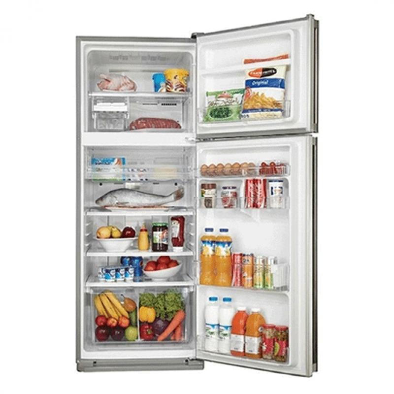 Sharp SJ-PC58A-SL, réfrigérateur 2 portes à 450 litres, Silver