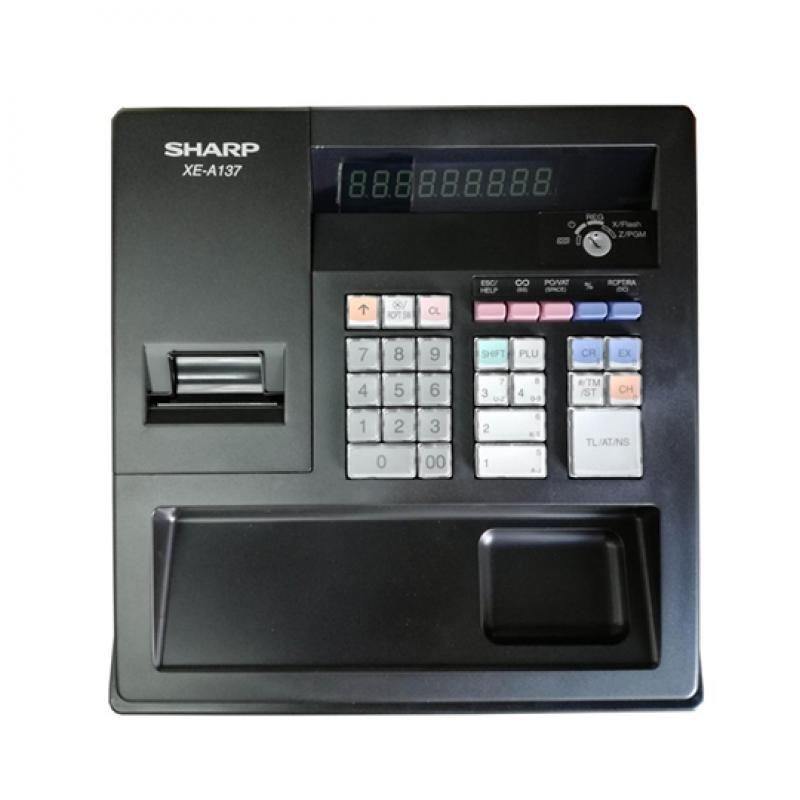 Sharp XE-A137-BK, Caisse enregistreuse à 30 touches