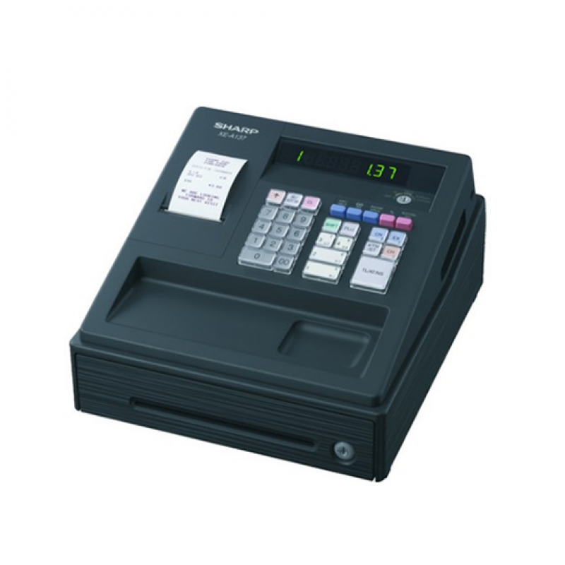Sharp XE-A137-BK, Caisse enregistreuse à 30 touches