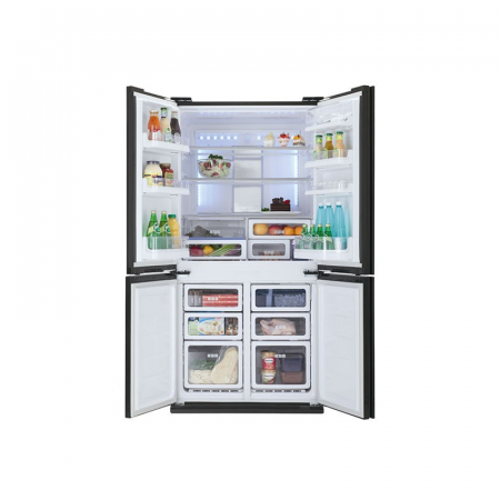 Sharp SJ-FS85V-BK5, réfrigérateur Side by Side No Frost 724 litres noir