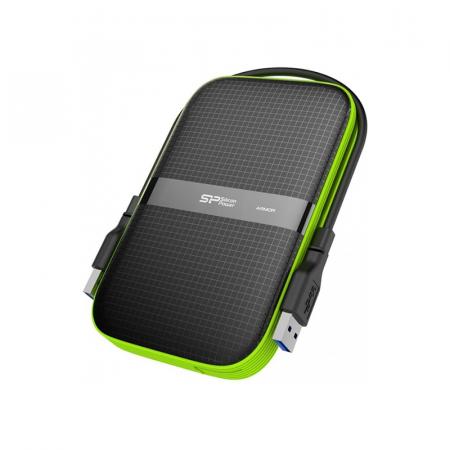 Silicon Power Armor A60, Disque dur externe 4To Waterproof USB 3.1 Noir