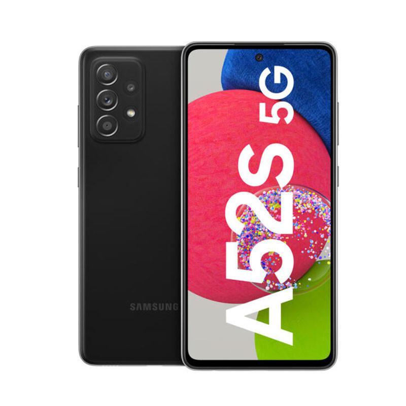 Samsung Galaxy A52s 5G, Smartphone Android milieu de gamme 128 Go Noir
