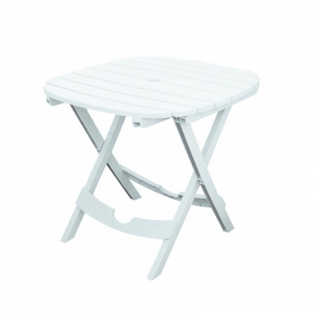 Table pliable portable Ruspina de Sotufab en blanc - TP020