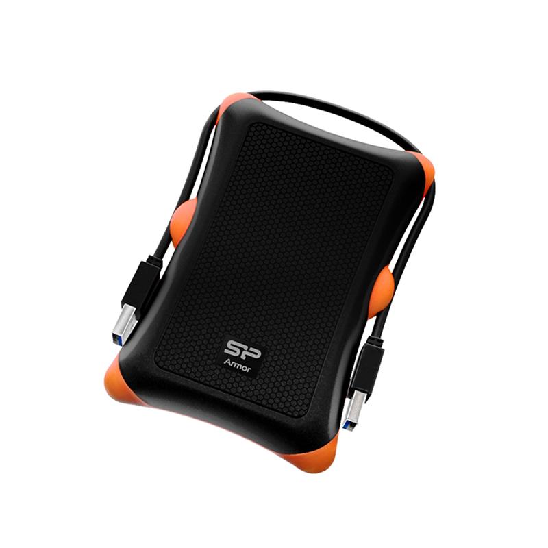 Silicon Power Armor A30, Disque dur externe 1To Anti-shock USB 3.1 Noir