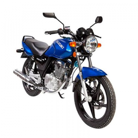 Motocycle SUZUKI EN125-2A Monocylindre 5 vitesses en Bleu