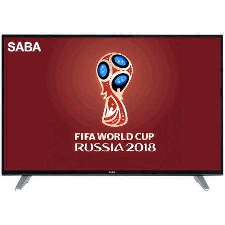 SABA 55UHD9000S, Téléviseur 55 pouces LED UHD 4K Smart avec Récepteur Intégré