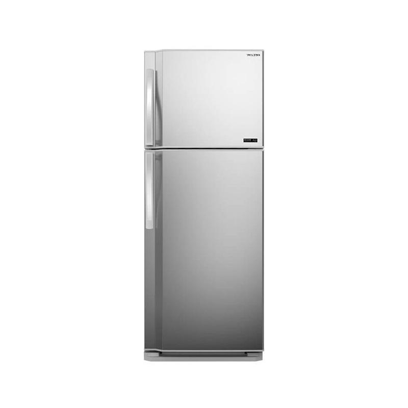 Tornado 48T-SILVER, Réfrigérateur NoFrost 389 Litres 2 Portes