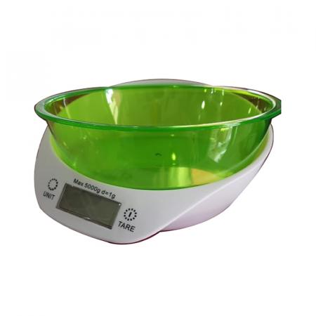 Balance de Cuisine Électronique Affichage LCD avec Bol Amovible