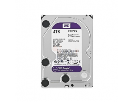 Western Digital WD40PURZ, Disque dur de surveillance 4To Purple SATA III 64Mo