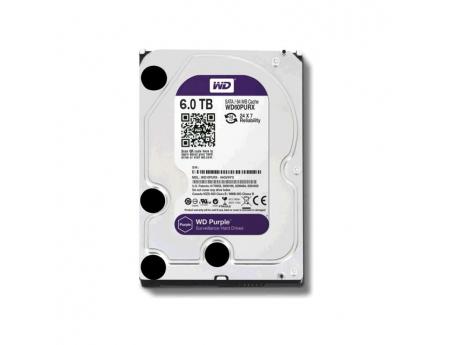 Western Digital WD60PURZ, Disque dur de surveillance 6To Purple SATA III 64Mo