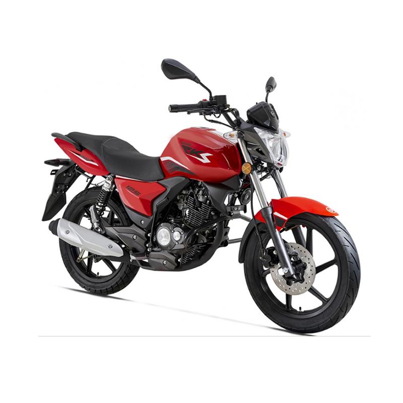 Moto ZIMOTA RKS Max 125CC Rouge